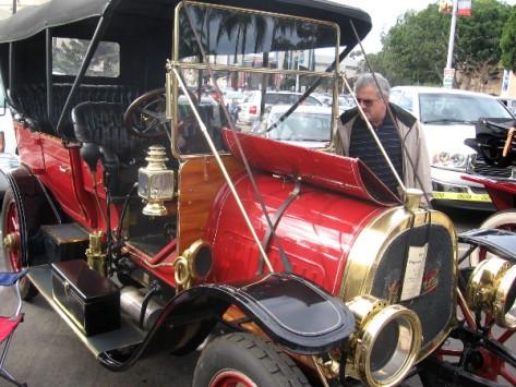 1909 Pope Hartford on display at Balboa Park Centennial special car show.