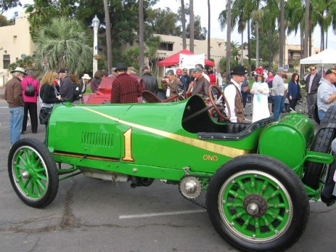 Very cool 1911 Ono, a vintage chain driven race car.