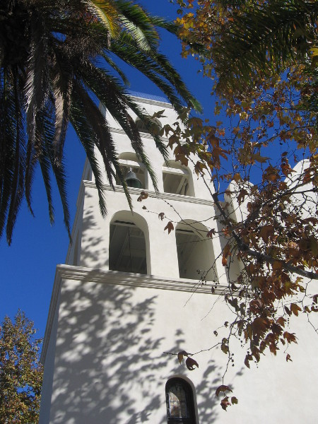 One of the original mission bells.
