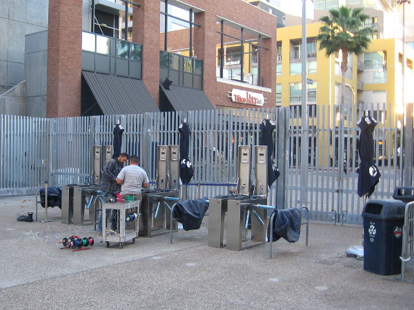 Guys get some ticket machines ready for the upcoming 2015 baseball season.