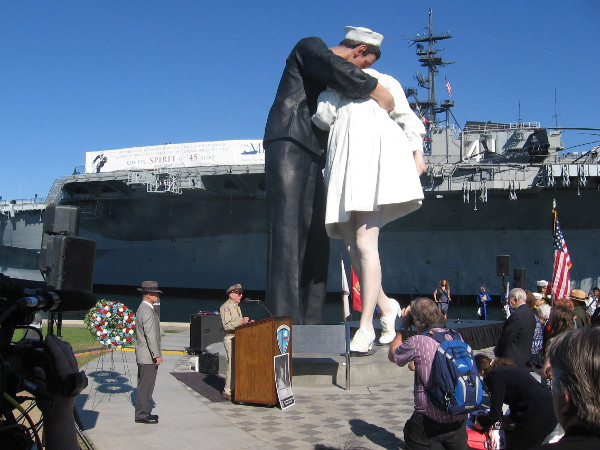 Only 5 percent of those who fought in World War II remain alive today. Those who participated in the war effort were honored and remembered with gratitude.
