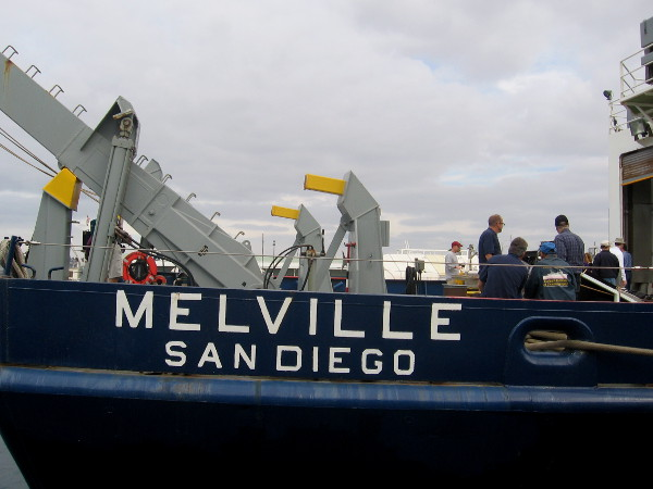 Farewell RV Melville. The human race learned much during your decades of service!