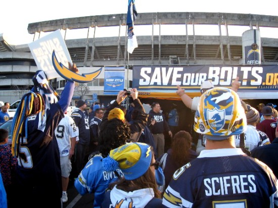 Social media driven Save Our Bolts rally attracted a huge crowd of diehard fans.