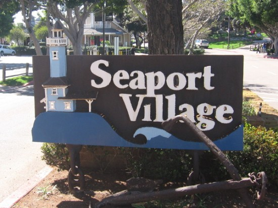 Seaport Village is a tourist destination on San Diego Bay that many locals love.