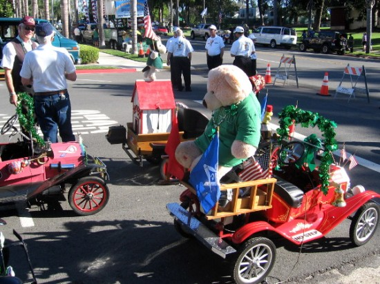 Shriner mini cars are always a popular part of the St. Patrick's Day Parade.