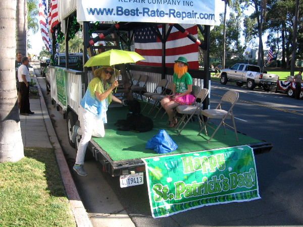 The Best-Rate Repair Company float is making its first appearance this year.