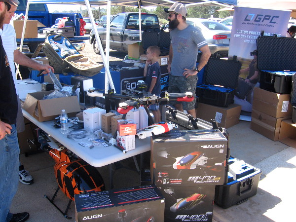 Drone builders and enthusiasts were in heaven in San Diego today.