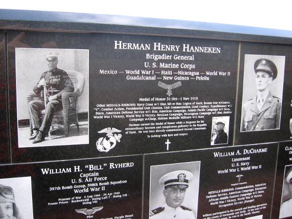Herman Henry Hanneken, Brigadier General of U.S. Marine Corps, served in many wars long ago.