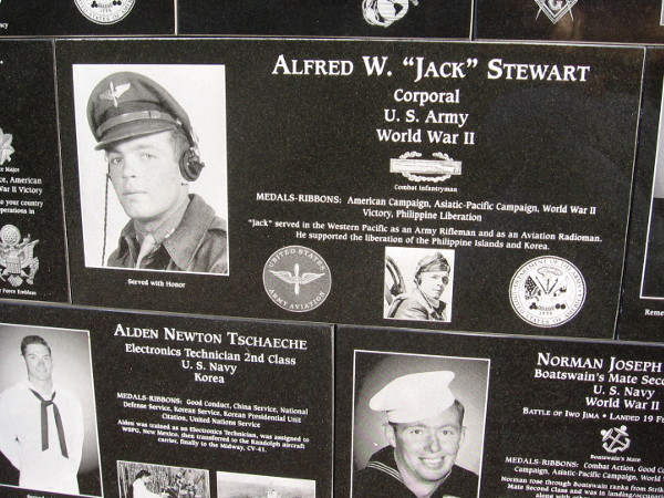 U.S. Army Corporal Alfred W. Stewart helped liberate the Philippine Islands during WWII.
