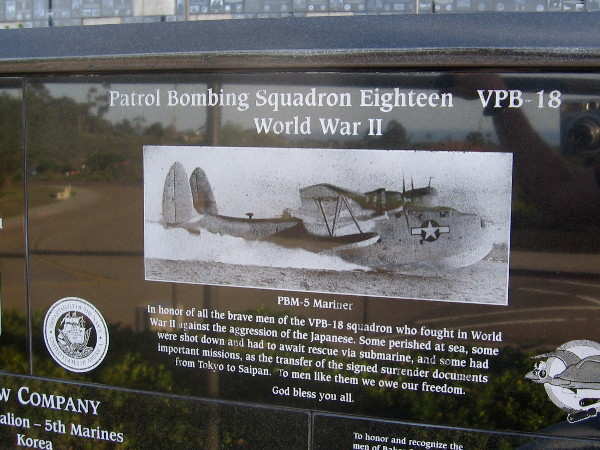 Patrol Bombing Squadron Eighteen. To men like them we owe our freedom.