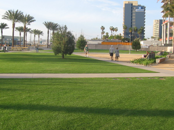 Lane Field Park is now open on San Diego's Embarcadero.
