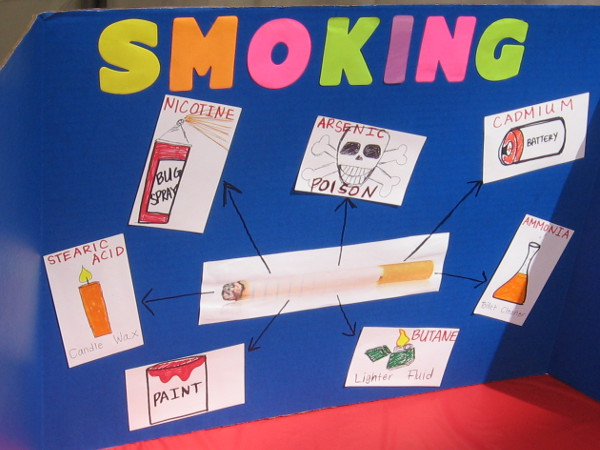 Learning how smoking exposes people to all sorts of toxic chemicals.