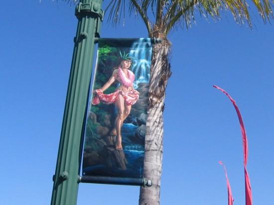 Another beautiful female figure in sunny beach destination Encinitas.