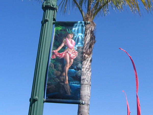 Another beautiful female figure in sunny beach destination Encinitas.