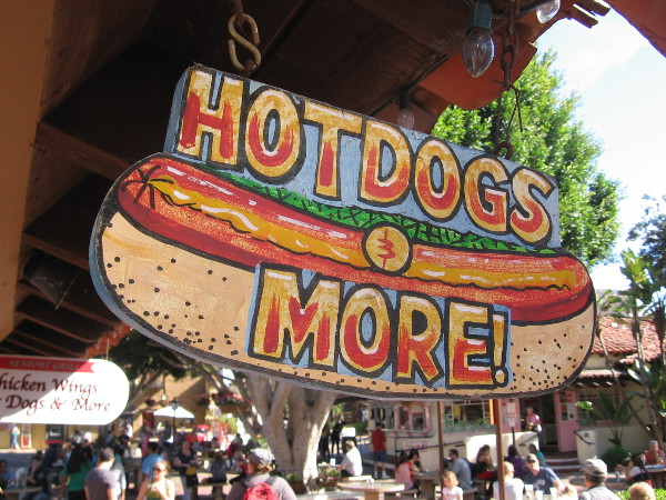 Scrumptious hot dogs and more at the popular food court!