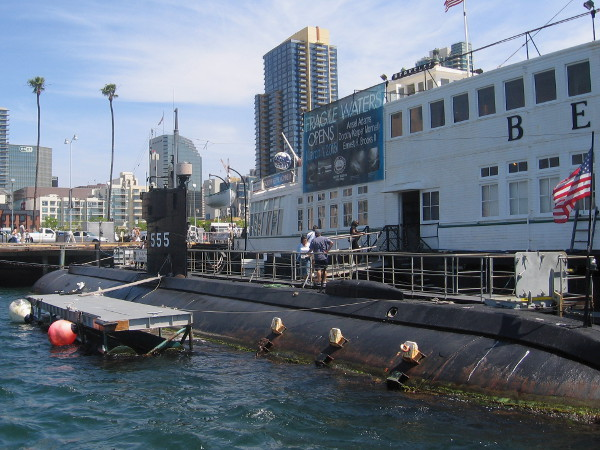 The Maritime Museum of San Diego boasts two submarines in its world-class collection of ships. The USS Dolphin holds the world record for deep diving.