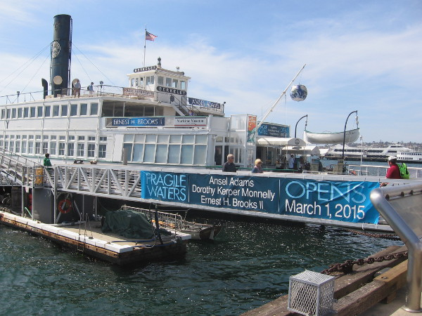 The historic 1898 steam ferryboat Berkeley, the museum's hub, is also featuring nature photography by Ansel Adams and others.