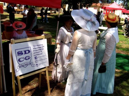 San Diego Costume Guild members help Balboa Park celebrate its centennial.