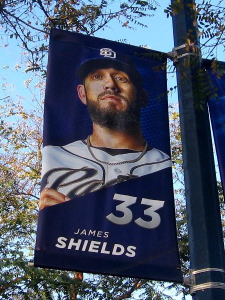 33 James Shields SP