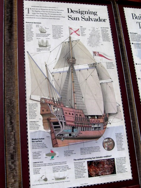 There are no blueprints for the galleon San Salvador. To reconstruct the 16th century ship, the Maritime Museum of San Diego used scarce historical clues.