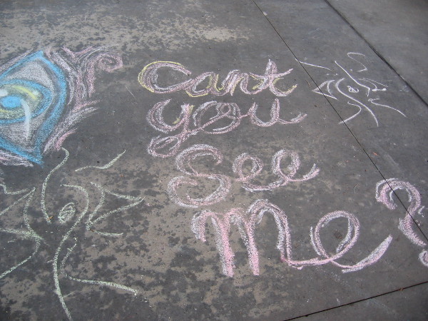 A young person worries: Can't you see me?