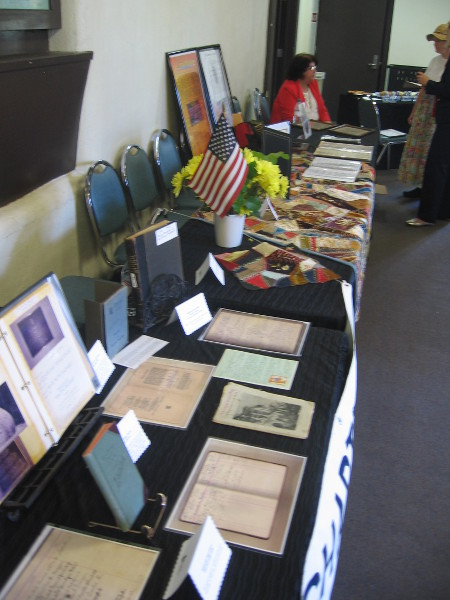 Numerous Daughters of the American Revolution artifacts exhibited in Balboa Park.