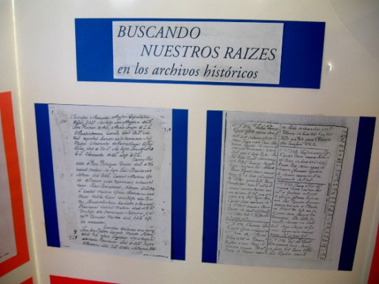 One exhibit encourages and assists Hispanic Americans searching for their ancestors.
