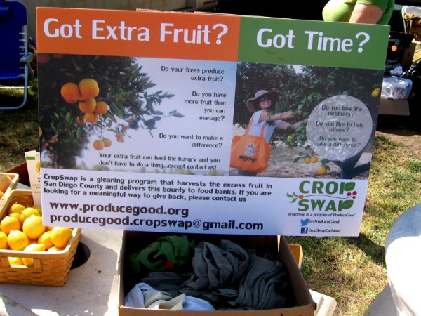 Got extra fruit. Got time. Help fight hunger and have a load of fun, too!