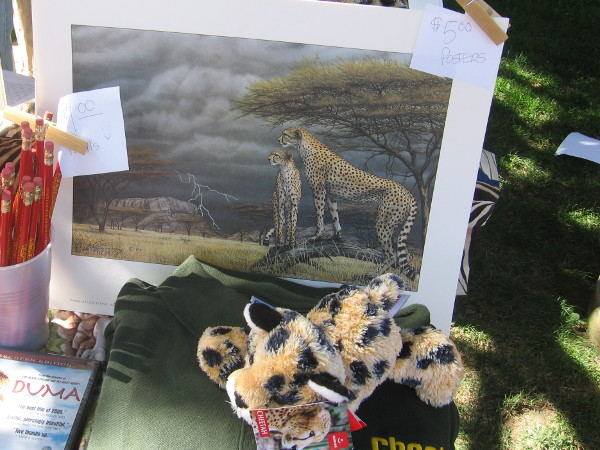 Protecting animals was one major theme at EarthFair.