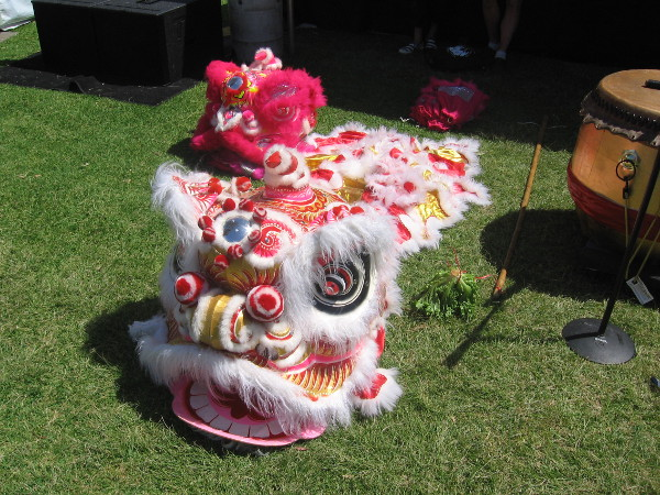 Lion dances would take place later in the day!