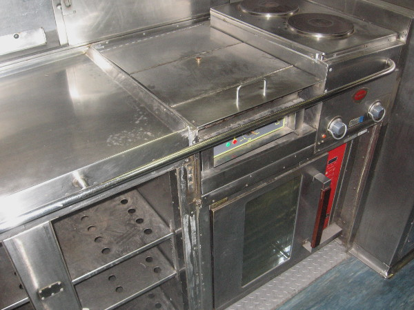 This is where food was prepared.