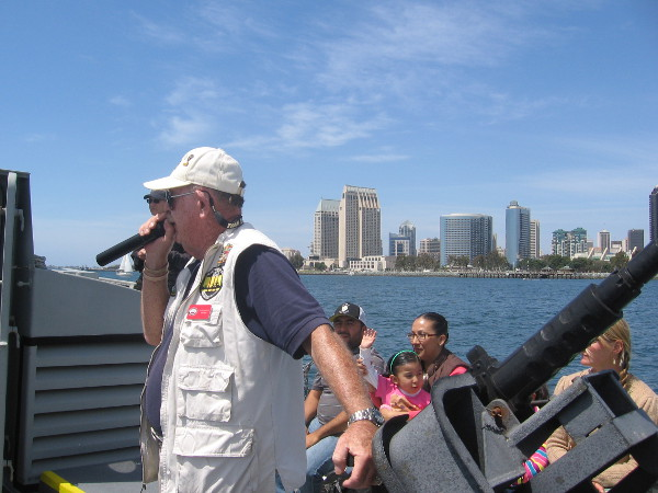 Heading back toward downtown San Diego, we learn more about the history of Swift Boat training in San Diego.