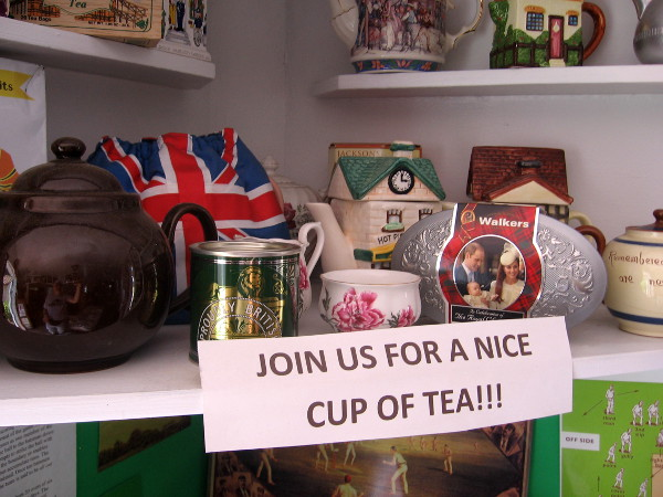 Join us for a nice cup of tea!