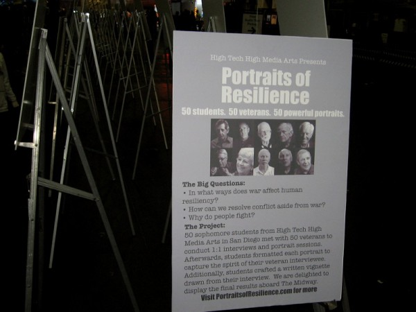 Portraits of Resilience. 50 students. 50 veterans. 50 powerful portraits.