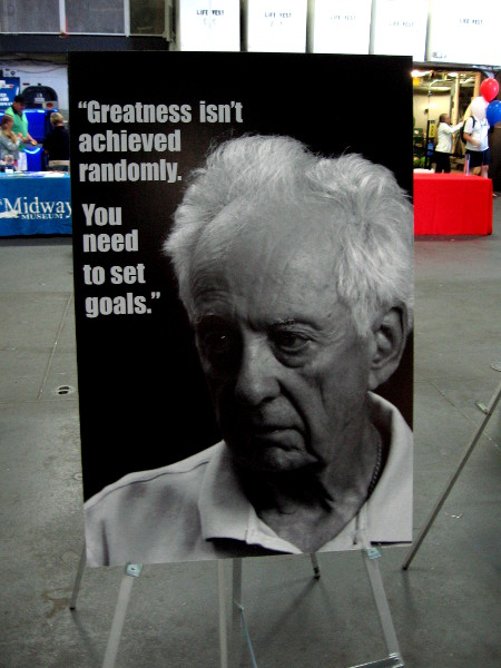 Greatness isn't achieved randomly. You need to set goals.