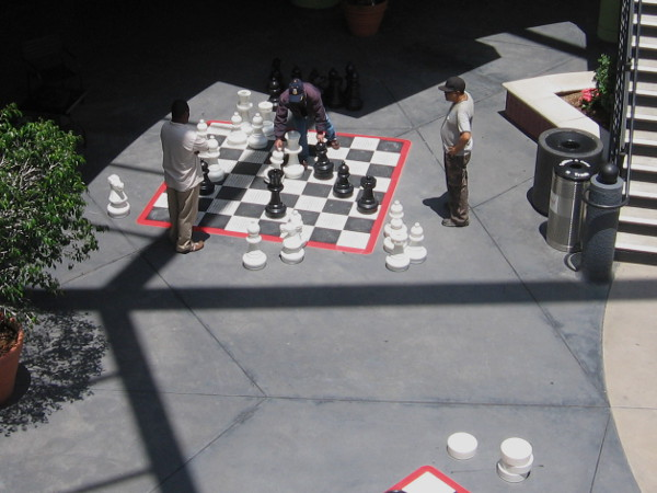 Chess and checkers games can include a small workout!