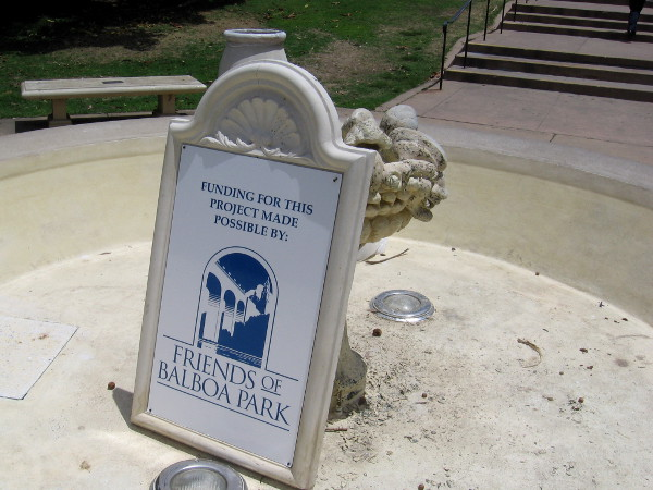 Funds for many Centennial restorations and improvements have been provided by the Friends of Balboa Park.