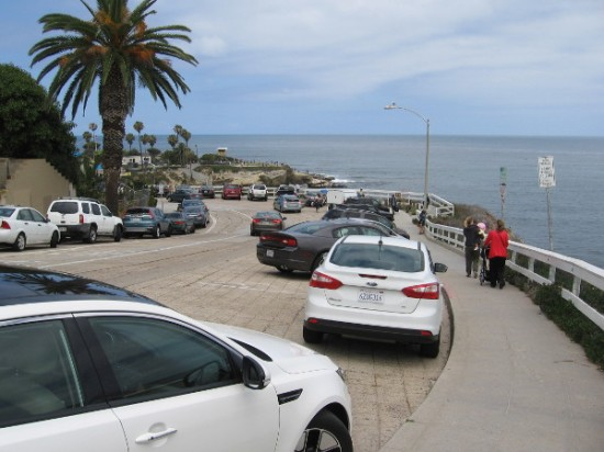 The amazing Coast Boulevard passes La Jolla Cove, Scripps Park, Children's Pool and the La Jolla tide pools!