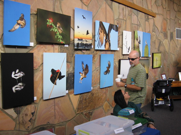 The Art of Bird Photography is a special exhibition featuring the work of Blake Shaw.
