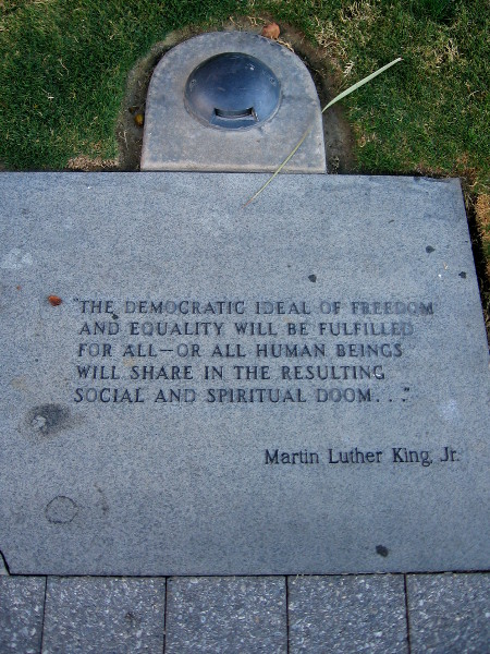 The democratic ideal of freedom and equality will be fulfilled for all--or all human beings will share in the resulting social and spiritual doom...