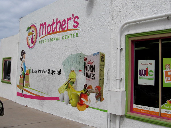 Mother's Nutritional Center helps local low-income women with young children.
