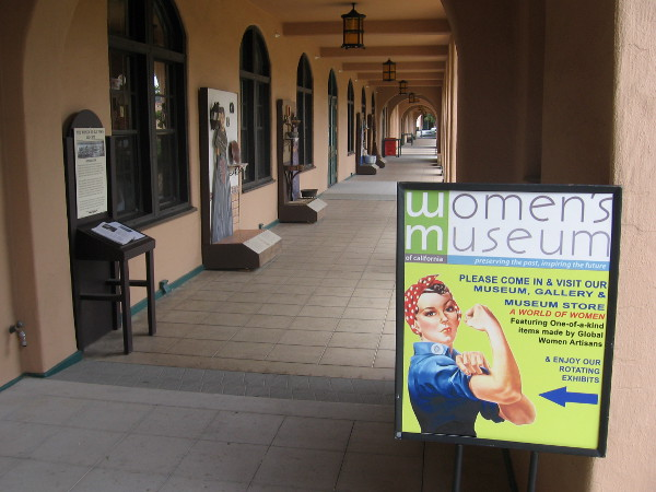 Important stories from local history are preserved at the Women's Museum of California in Liberty Station.
