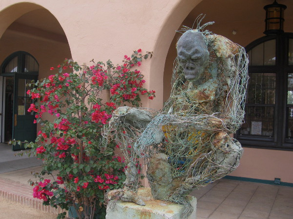 Mother by Robert Michael Jones appears complex and incomplete. According to the artist, his unusual sculptures represent ongoing life stories.