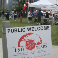 The Salvation Army celebrates service in San Diego.