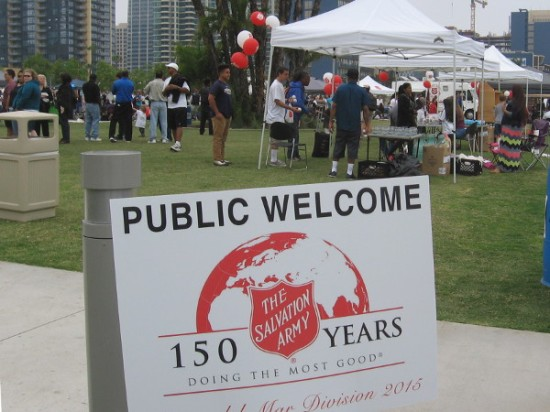 A gathering in the park celebrates 150 years of doing the most good.