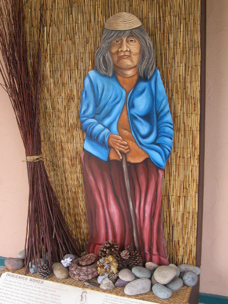 The Ipai and Tipai (Diegueño, Kumeyaay) resisted Christianity and the missions more than other indigenous Californians. Moved off their land, the women worked in the town and ranchos.