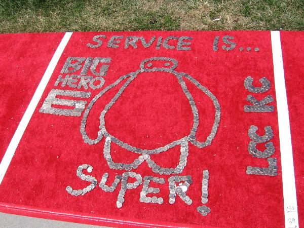 Like Big Hero 6, service is super!