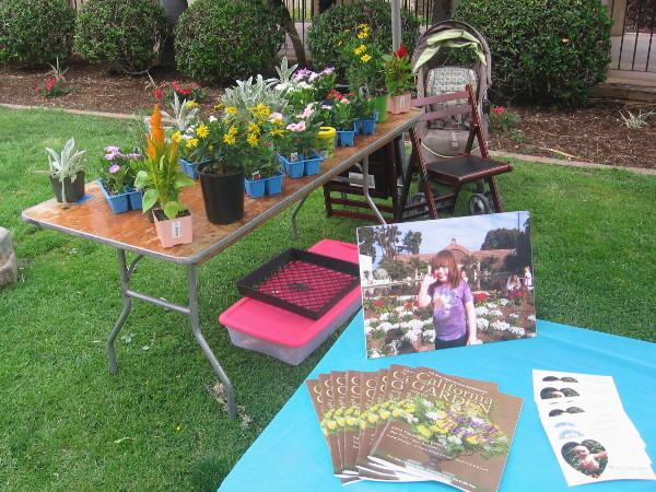 Displays concerning gardening were front and center during the special Balboa Park Centennial event.