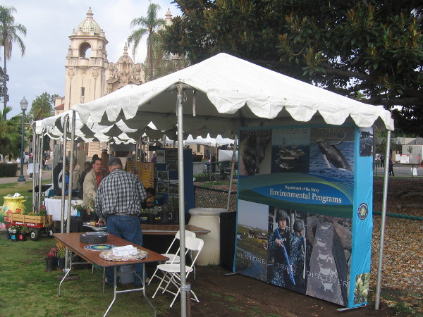 The Navy was showcasing its environmental programs.
