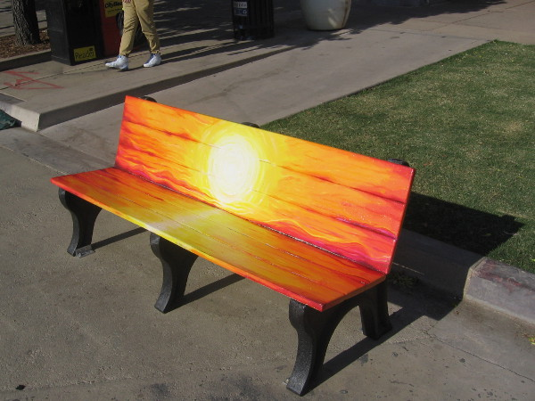 You can now sit on sunshine!